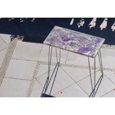 Эпоксидный стол фиолетовый