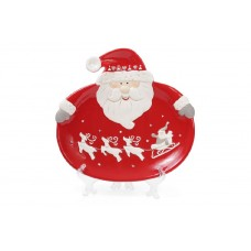 Тарелка Санта