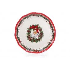Тарелка керамическая Санта