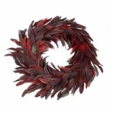 Венок с красного перья