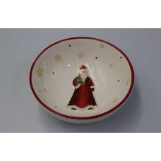 Тарелка с Дедом Морозом