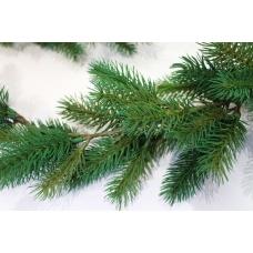 Гирлянда елки зеленая