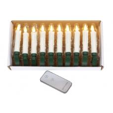 Набор декоративных свечей 10 шт.