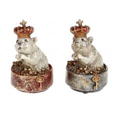 Фигурка Мышка с короной (2 вида)