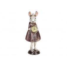 Фигурка Мышка с часами