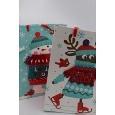 Пакет с Сантой/Снеговиком/Оленем