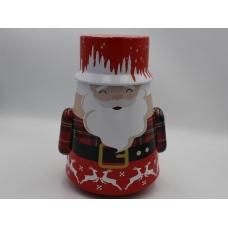 Коробка металлическая Санта