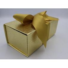Коробка итальянская золотая