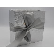 Коробка итальянская серебрянная