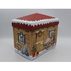 Коробка Дом деревянный