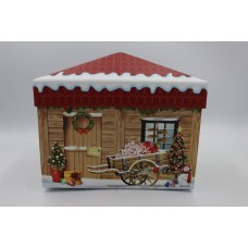 Подарочная коробка Дом деревянный