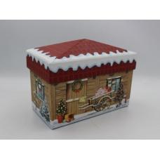 Подарочная коробка Домик деревянный