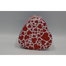 Коробка серце металлическое