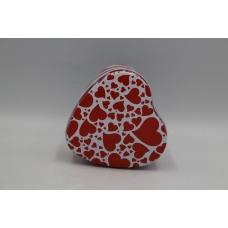 Коробка сердце металлическое