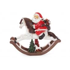 Статуэтка Санта на лошадке