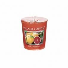 арома свеча village candle розоывй грейпфрут