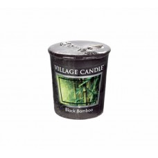арома свеча village candle чорный бамбук